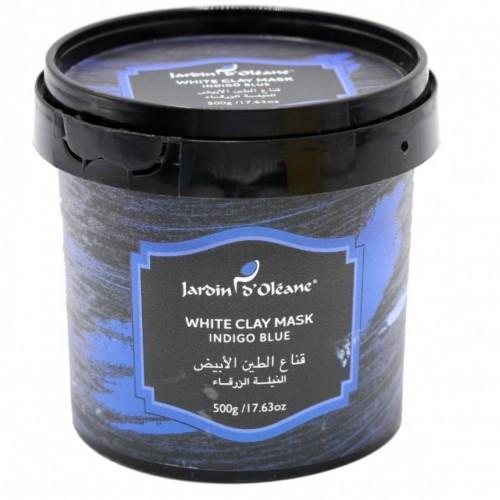 قناع الطين الابيض النيلة الزرقاء من جاردن دي اوليان