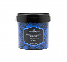 الصابون البلدي المغربي بالنيلة الزرقاء من جاردن دي اوليان